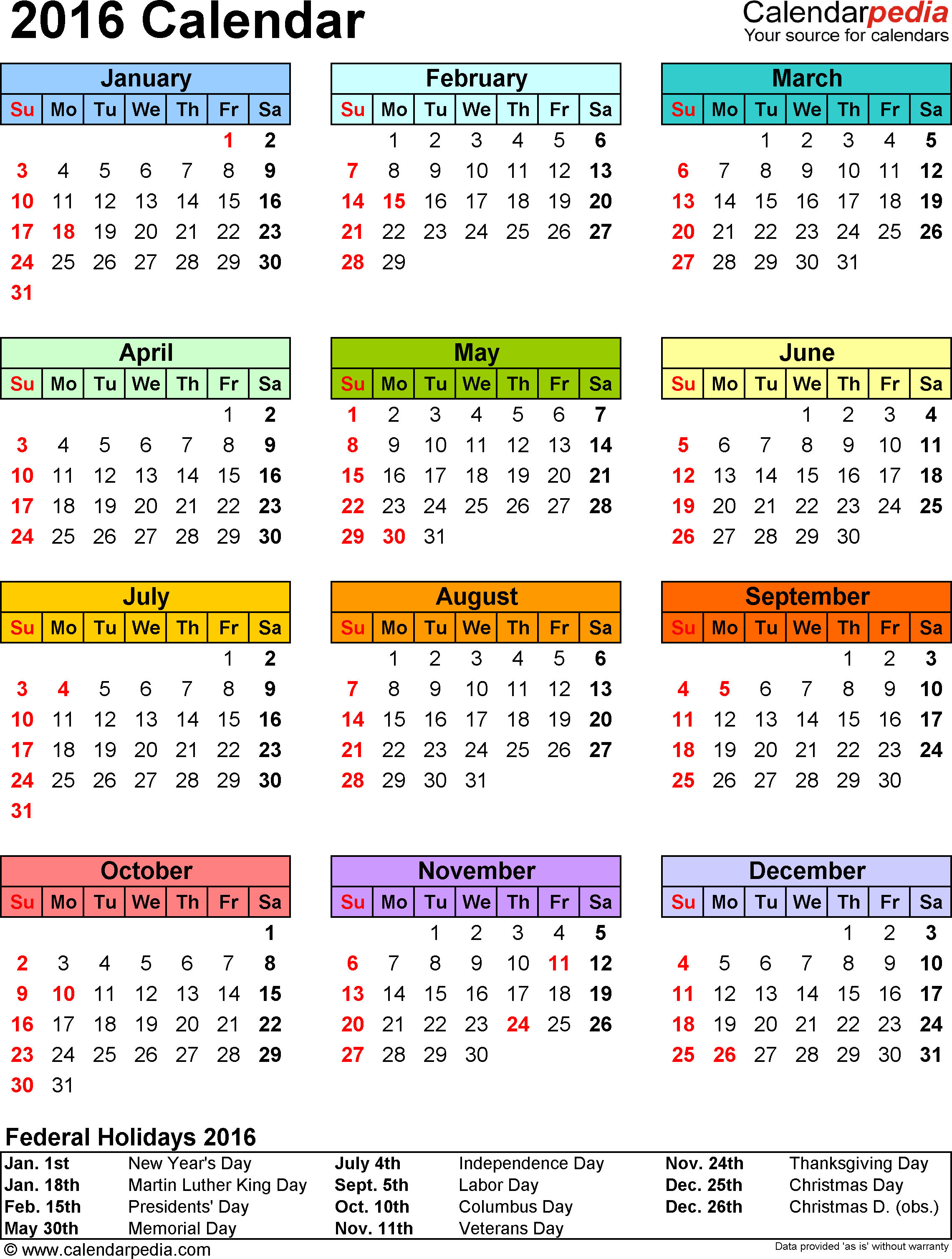 Lined Daily Calendar Sheet Template