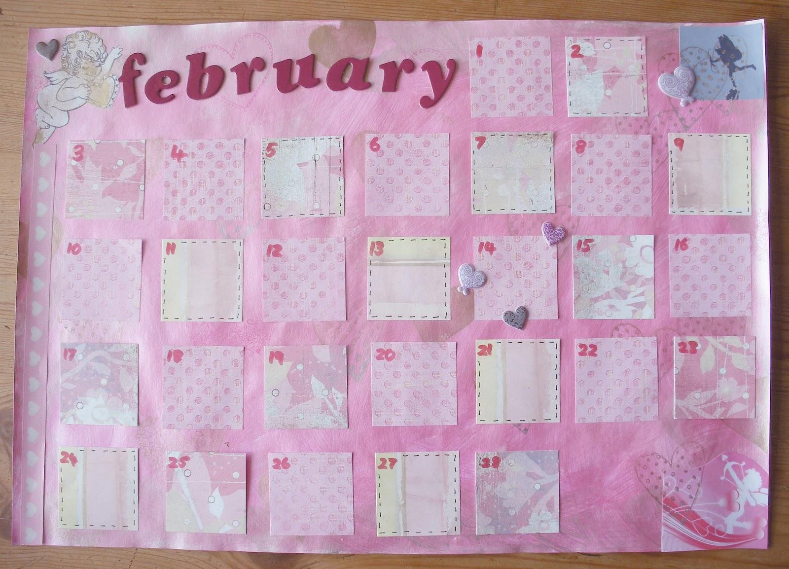 Art Journal Calendar   Calendar Template 2016