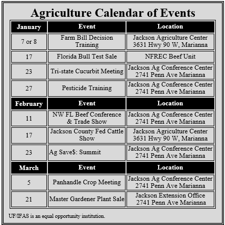 2015 Upcoming Events Calendar