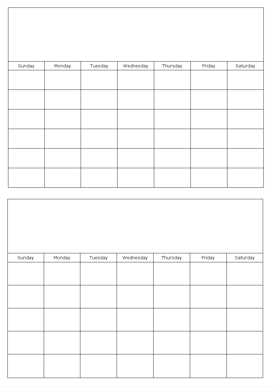 Calendar template monday calendar template 2018 for Calnedar template