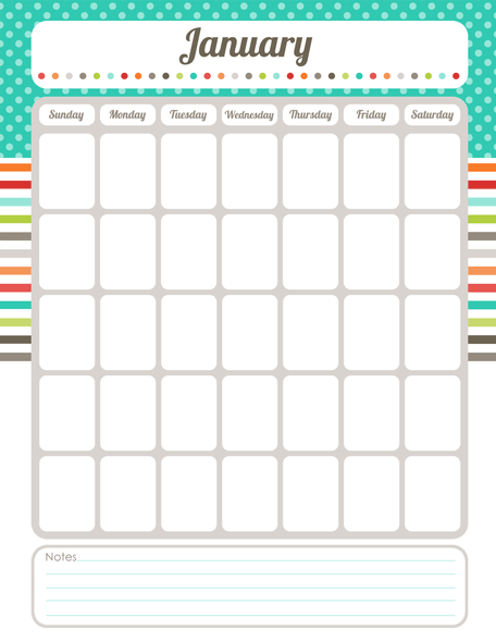 Cute May 2014 Calendar Printable