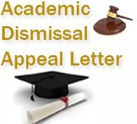 Academic Dismissal Appeal Letter for College