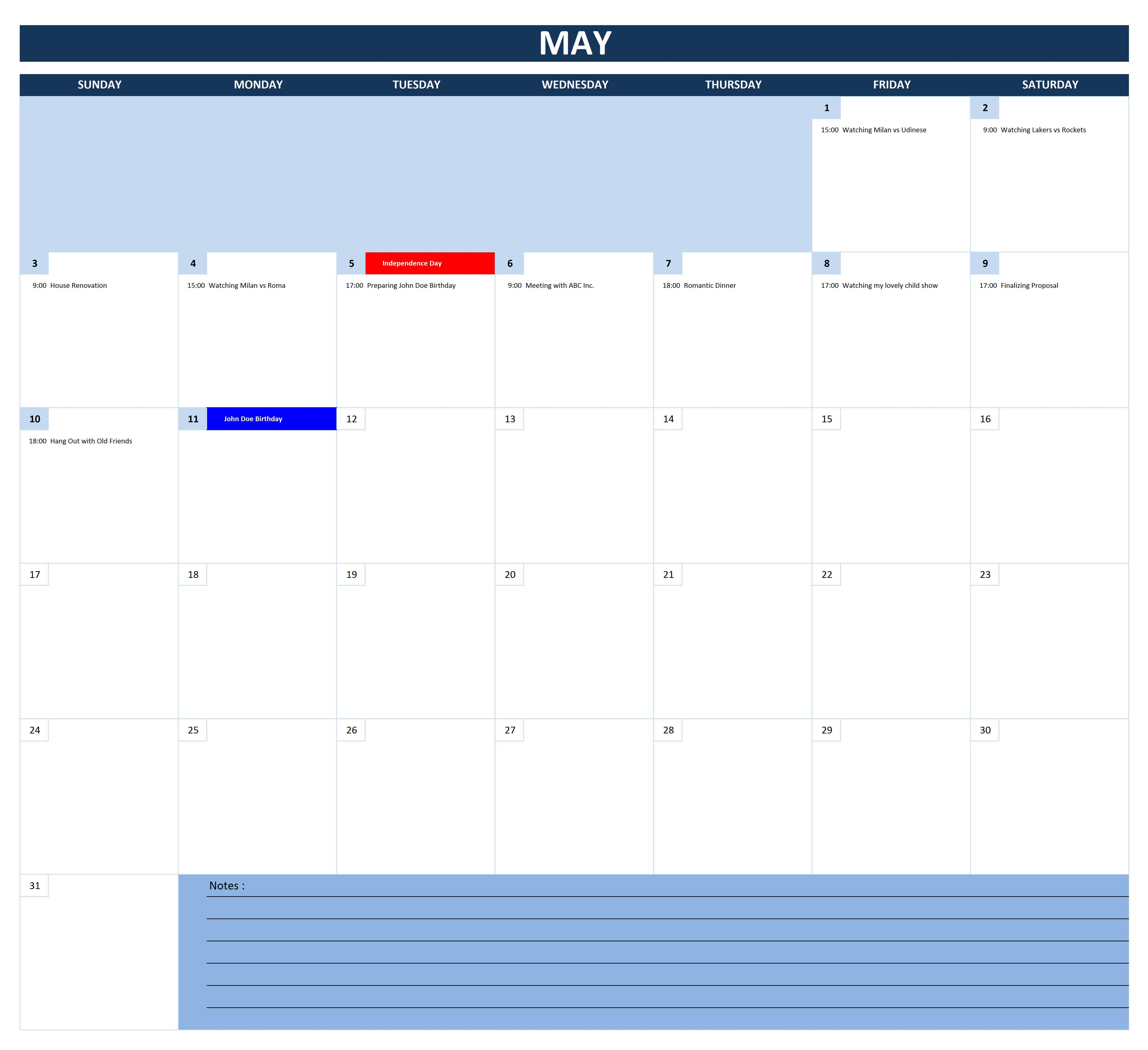 Free Printable 2 Month Calendar Template