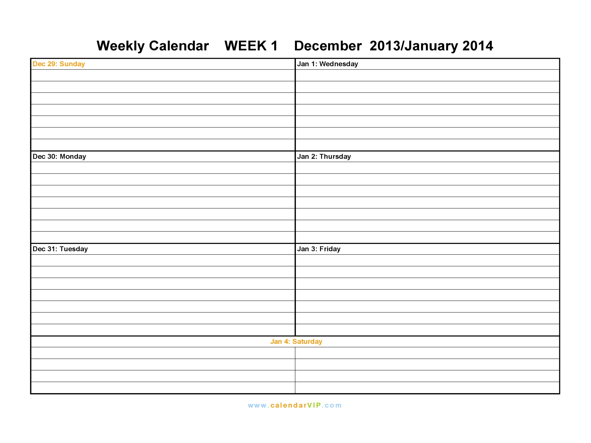 Free Printable 2 Month Calendar Template