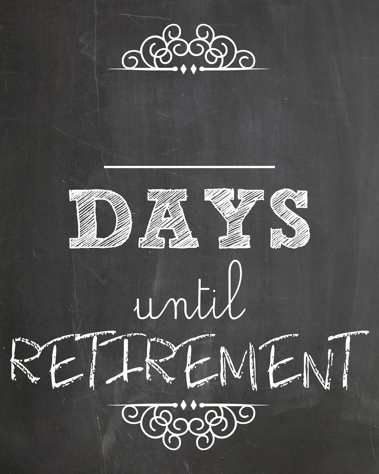 Countdown Days until Retirement