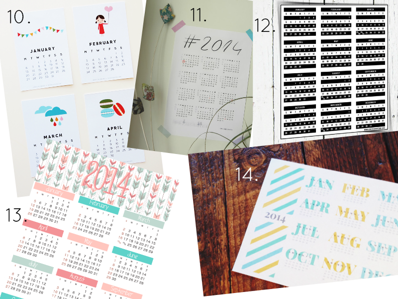 GEICO Leave Printable Calendars