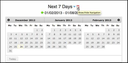 Conference Room Reservation Calendar