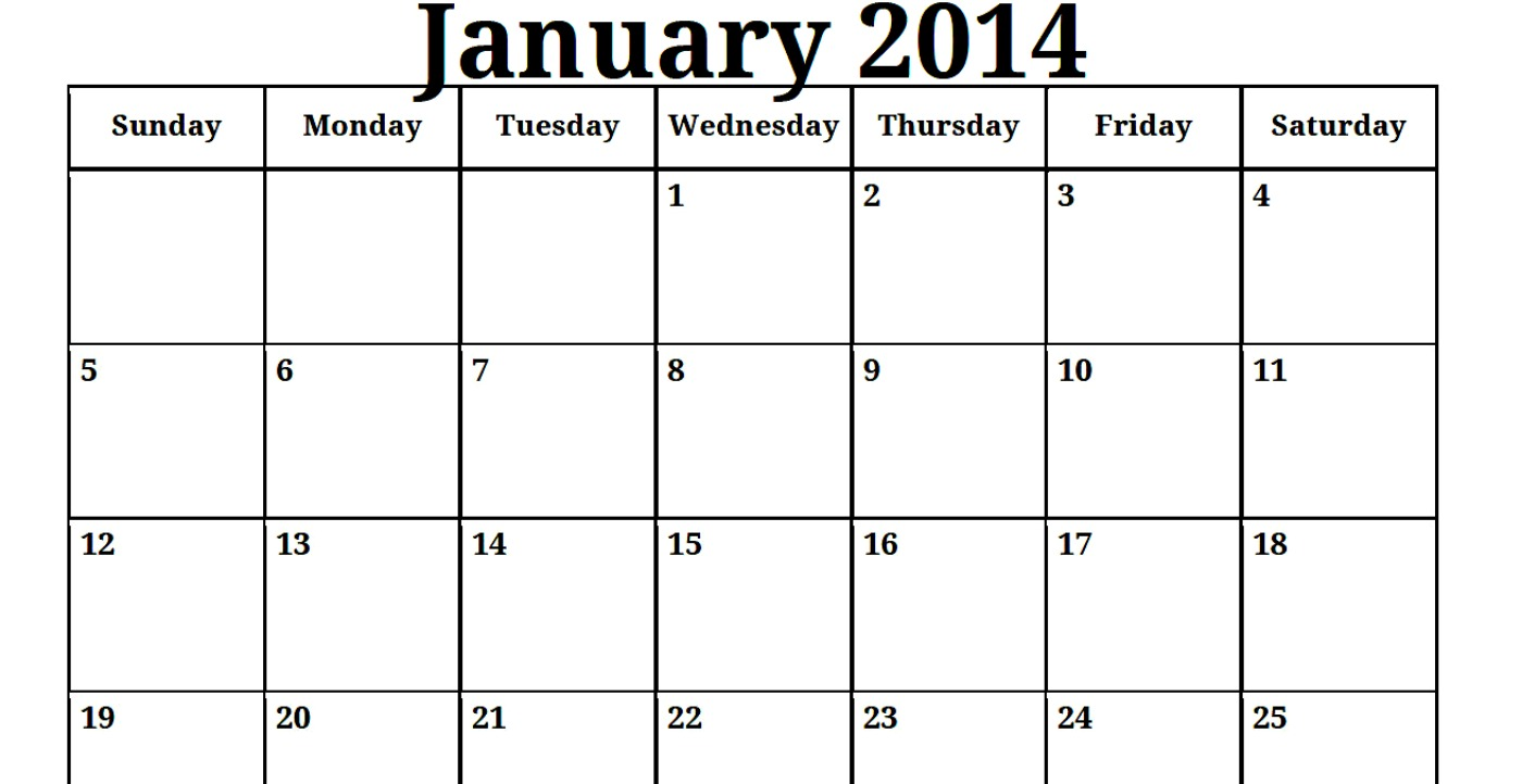 Monthly Calendar Print Out : Monthly calendar to print and fill out template