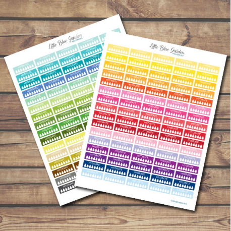 Hydrate Free Printable Planner Stickers