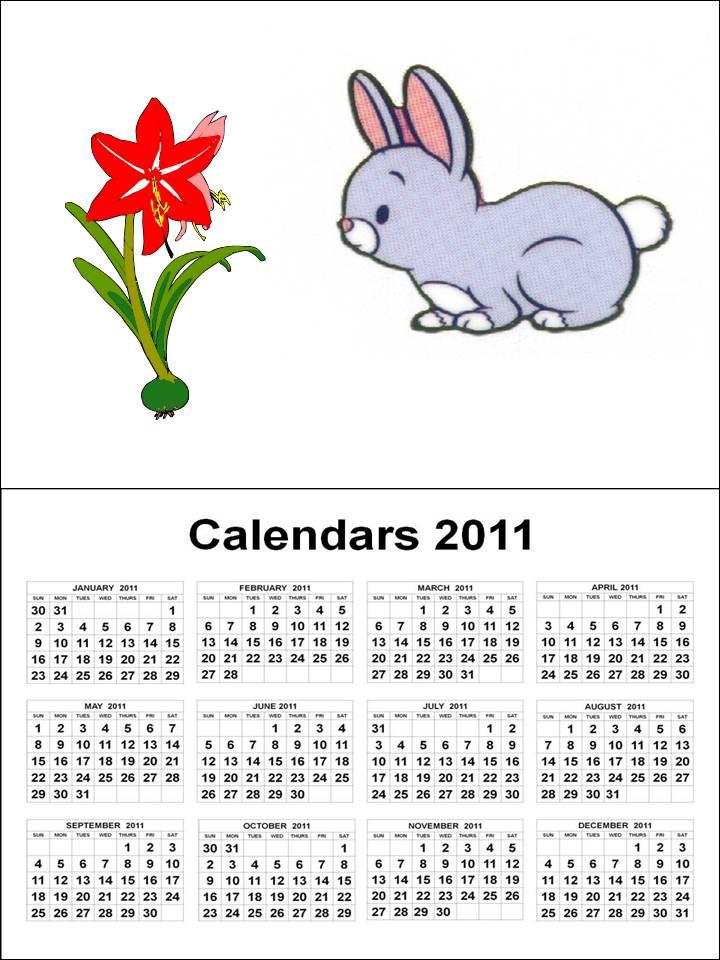 Plain Monthly Calendar Printable