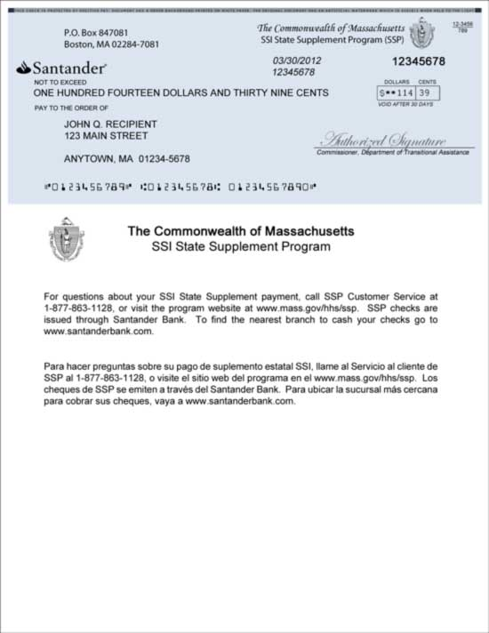Social Security Income Award Letter