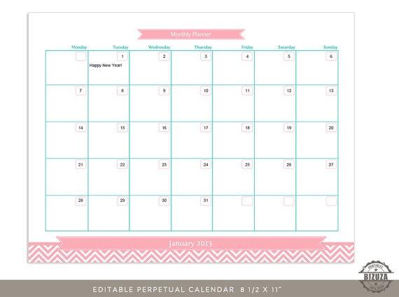 Blank October 2016 Calendar Printable