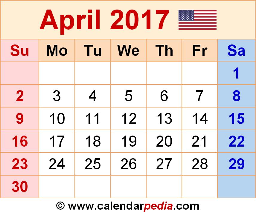 Two Month Wall Calendar Template | Calendar Template 2017