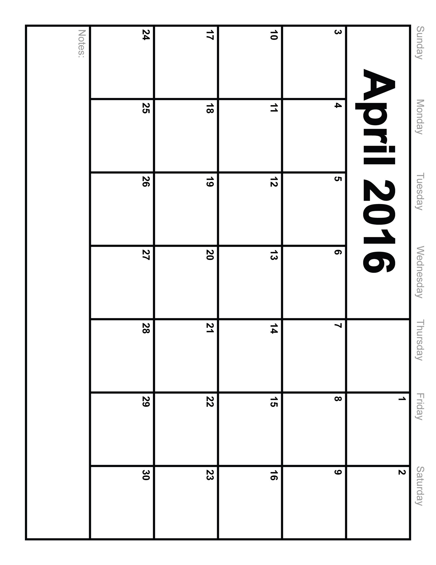 June 2016 Calendar Printable Org