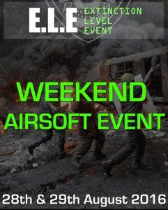 Events Calendar August 2016