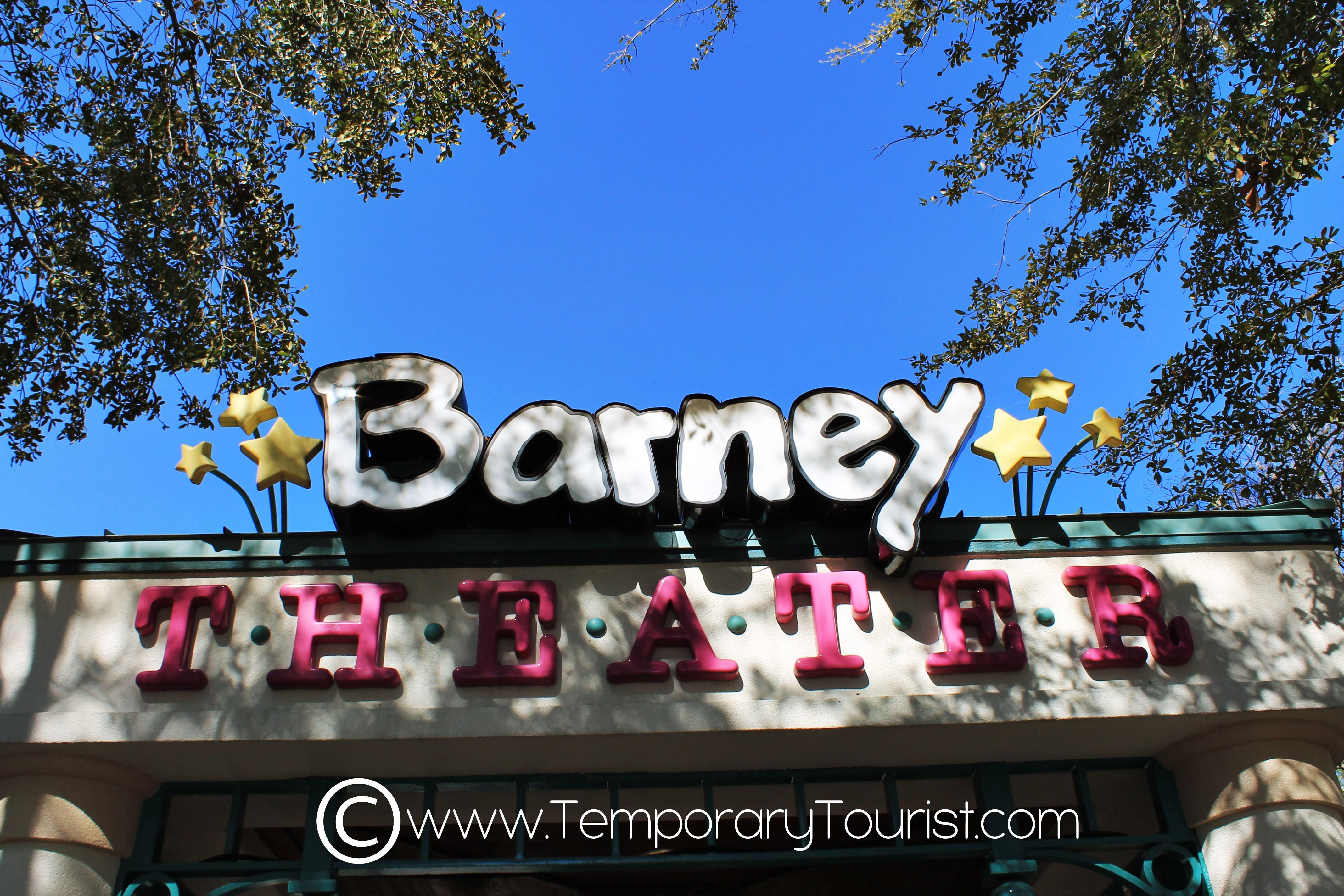 Barney at Universal Studios Orlando
