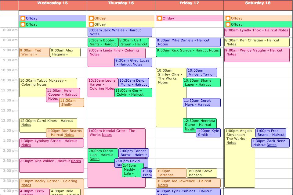 Weekly Planner Calendar Template 2016