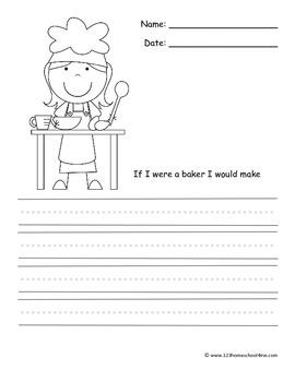 Kindergarten Grade Writing Prompts