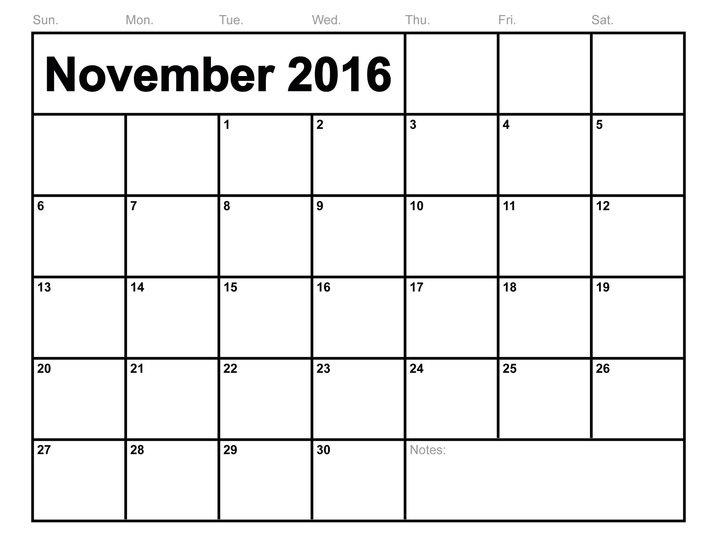 Blank Monthly Calendar April 2015