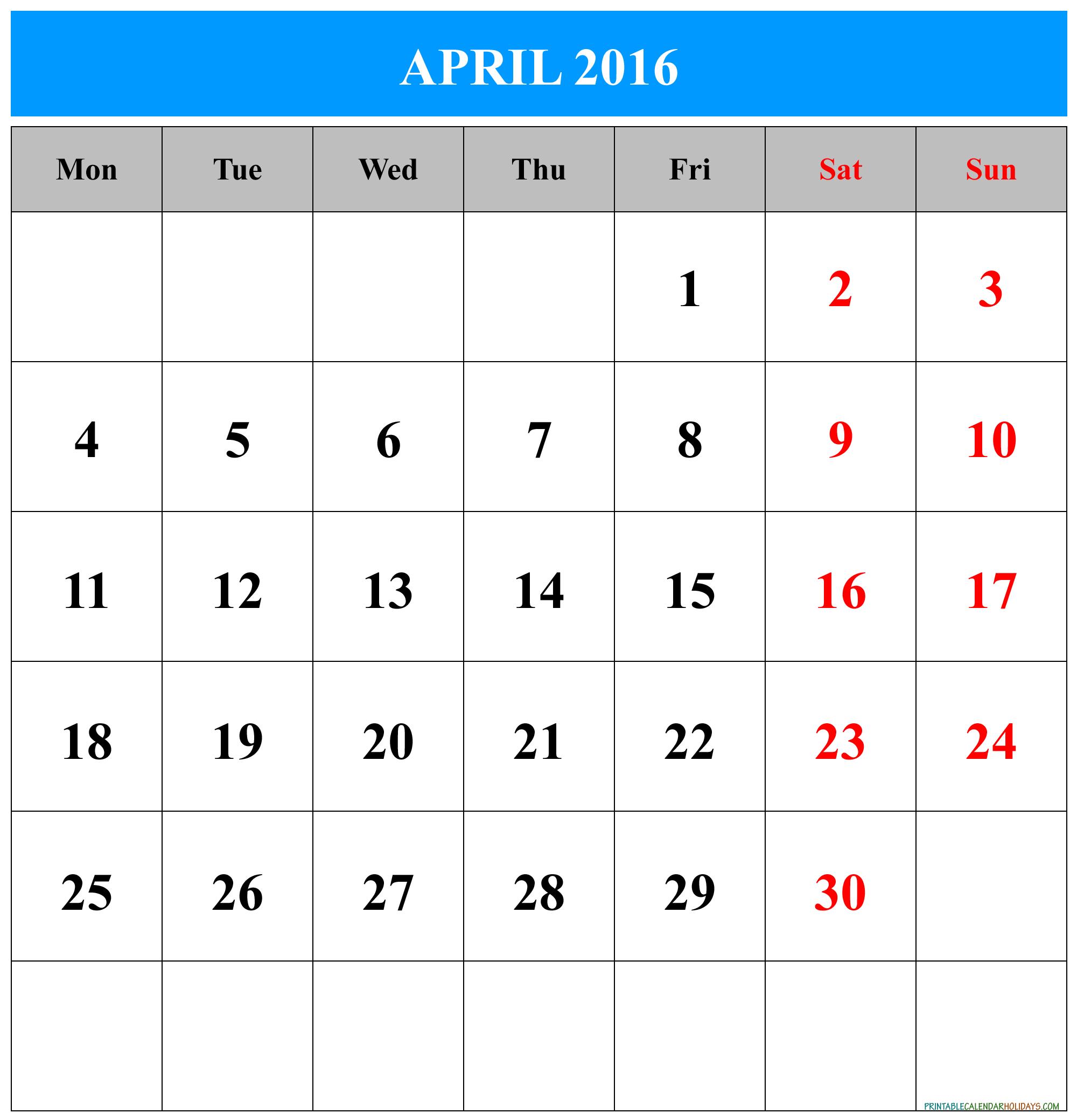 Free Printable July Calendars 2016 Com