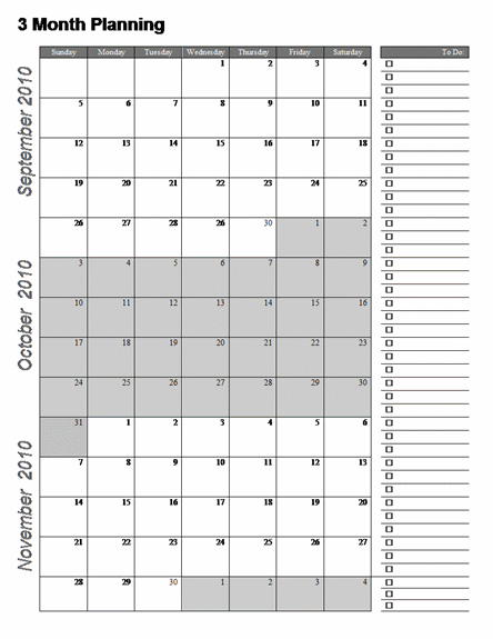 7 Best Images of 3 Month Printable Calendar Online Free