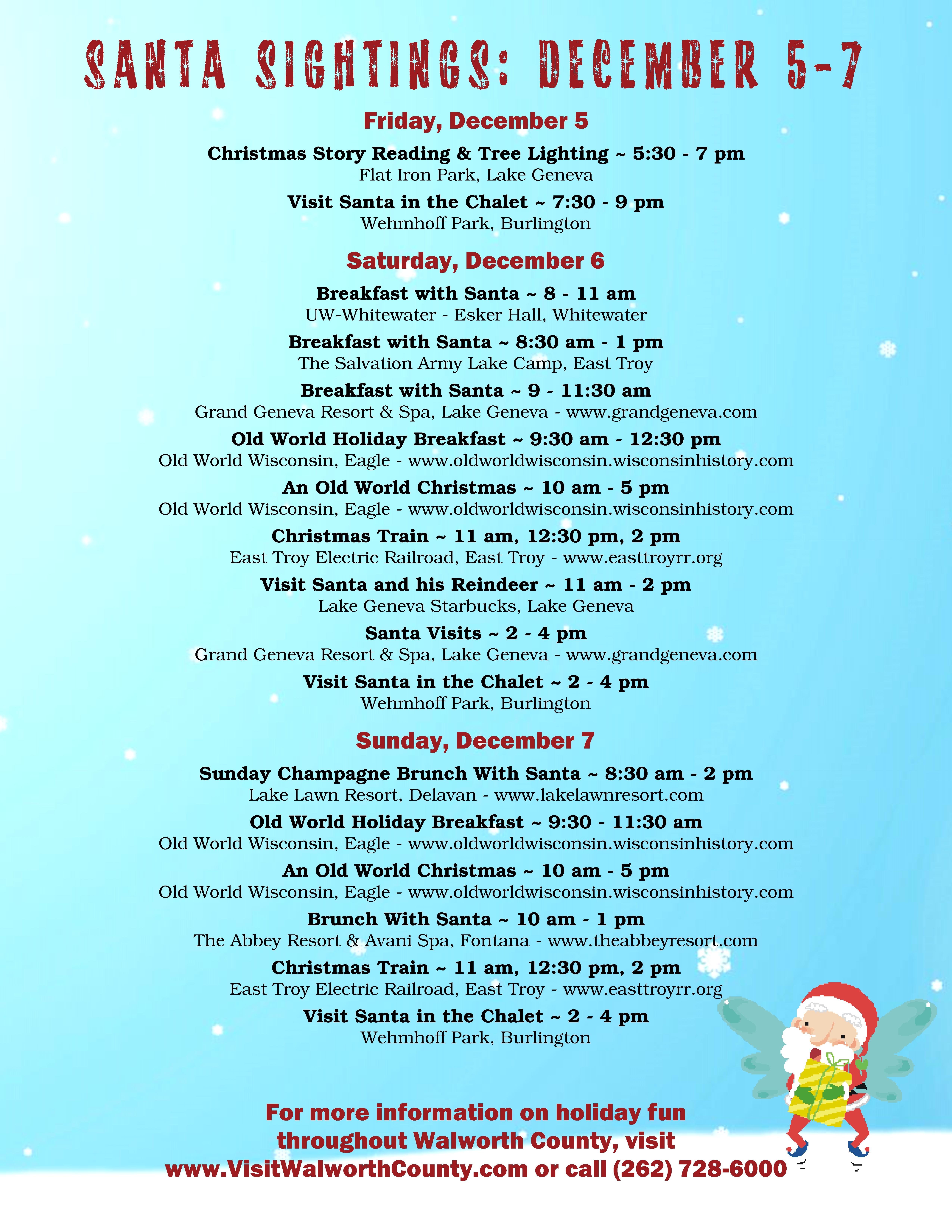 2014 Santa Sightings