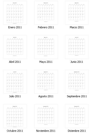Días Feriados Puerto Rico – Calendario 2011 Para Imprimir Gratis