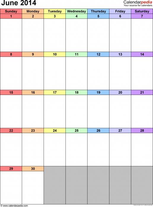 Forecasting Calendar Template Calendar Template :: montly calendar