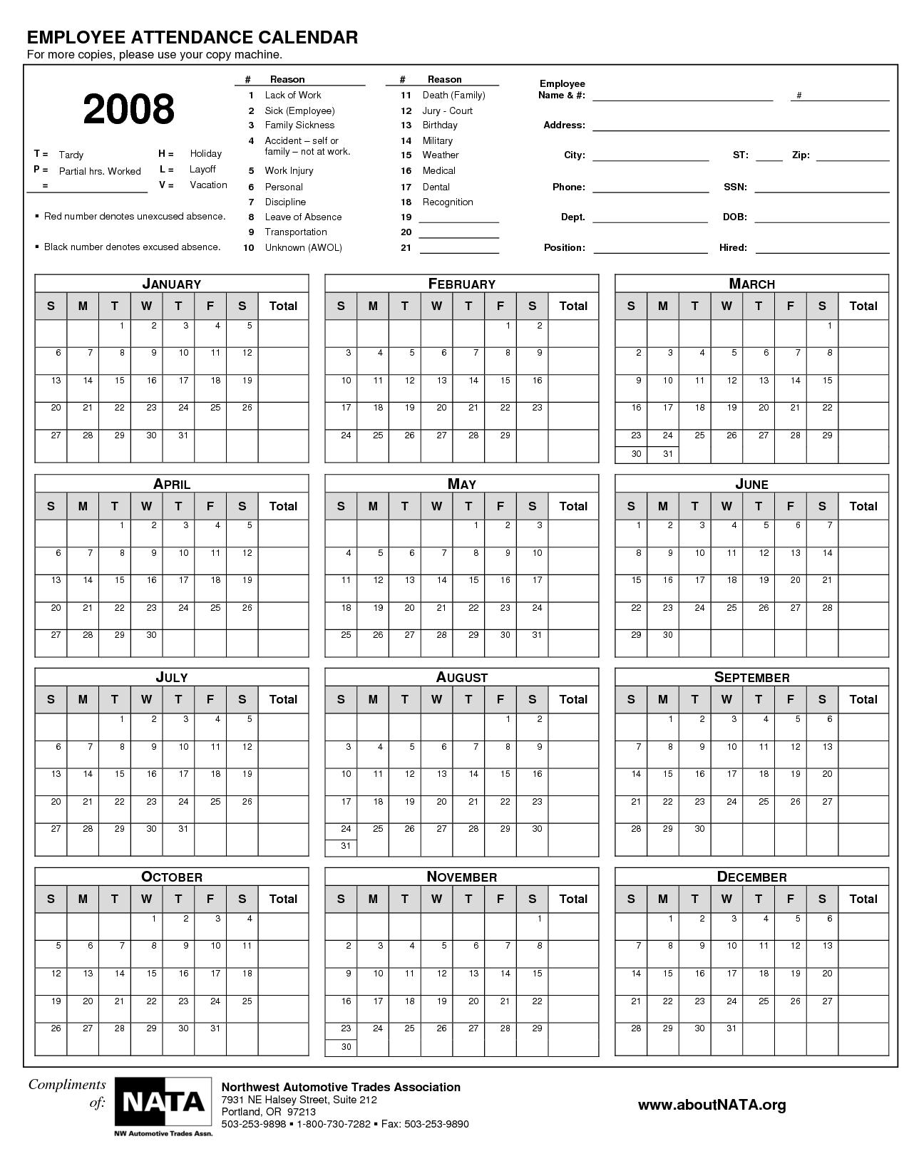 Work Calendar 2015 Template Radiotodorock