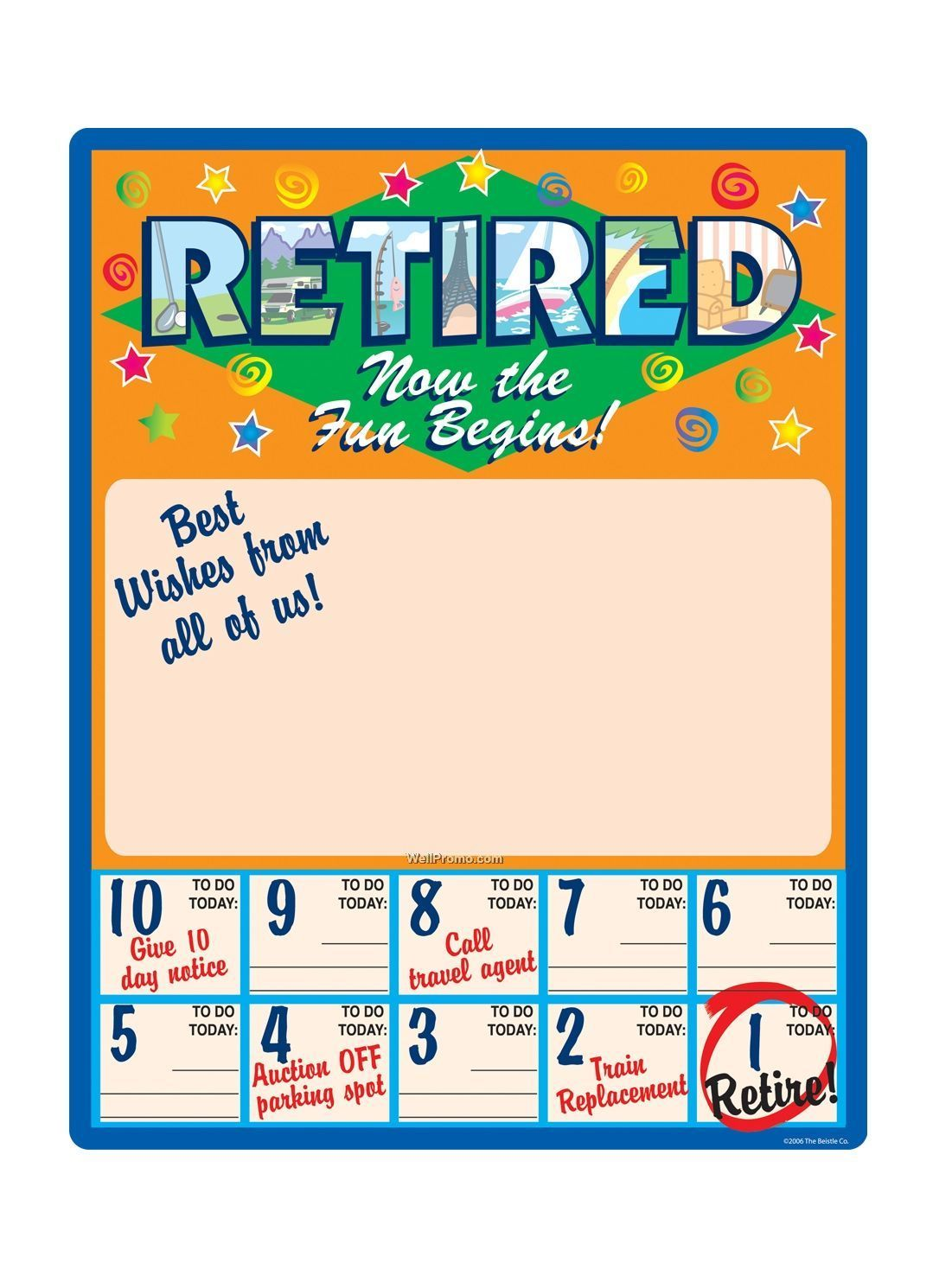 Funny countdown to retirement calendar calendar template 2017 make a farewellretirement countdown calendar to print out pronofoot35fo Choice Image