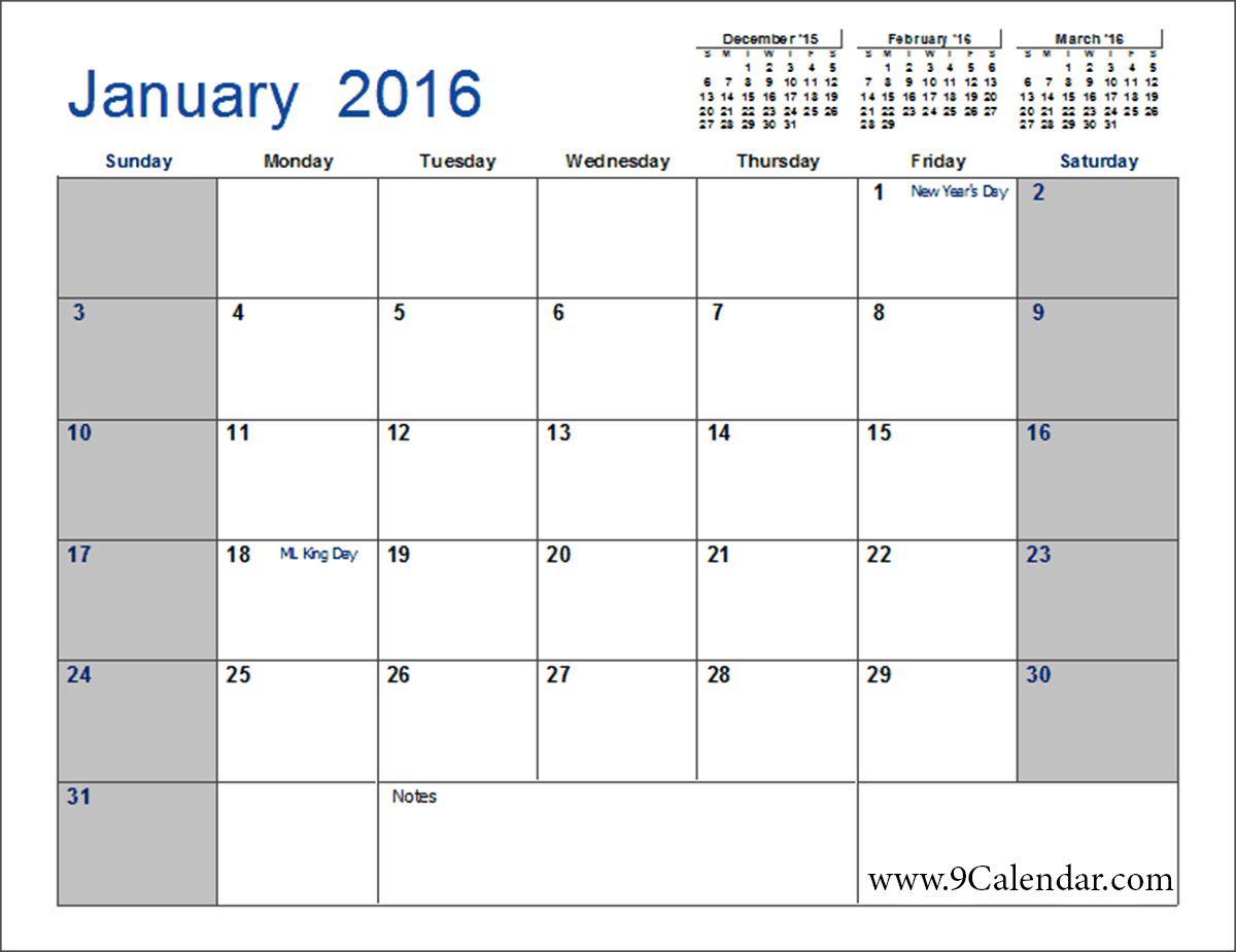 Best Photos of Blank Calendar Template No Months Printable Blank