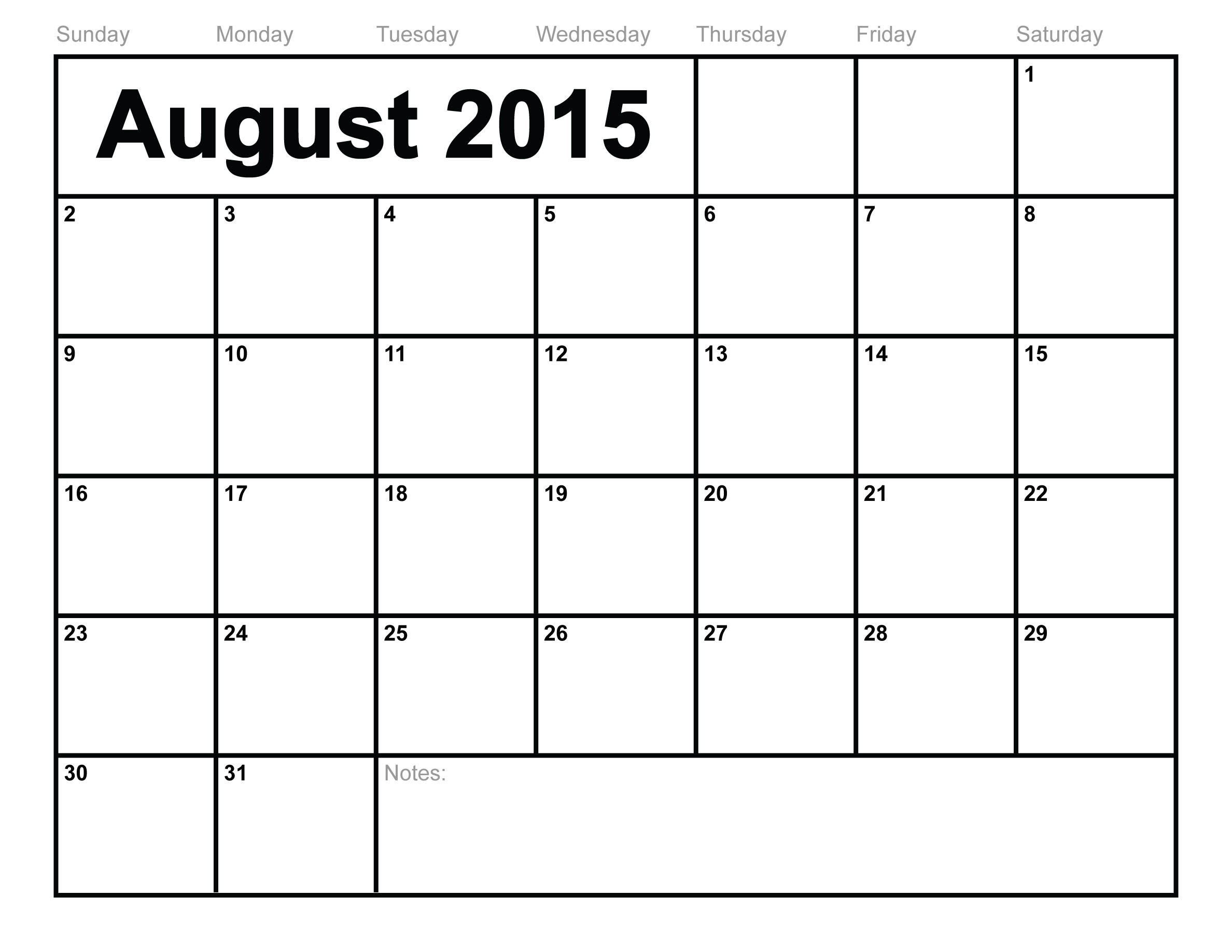 Blank Calendar Template Ks : Blank monthly calendar template