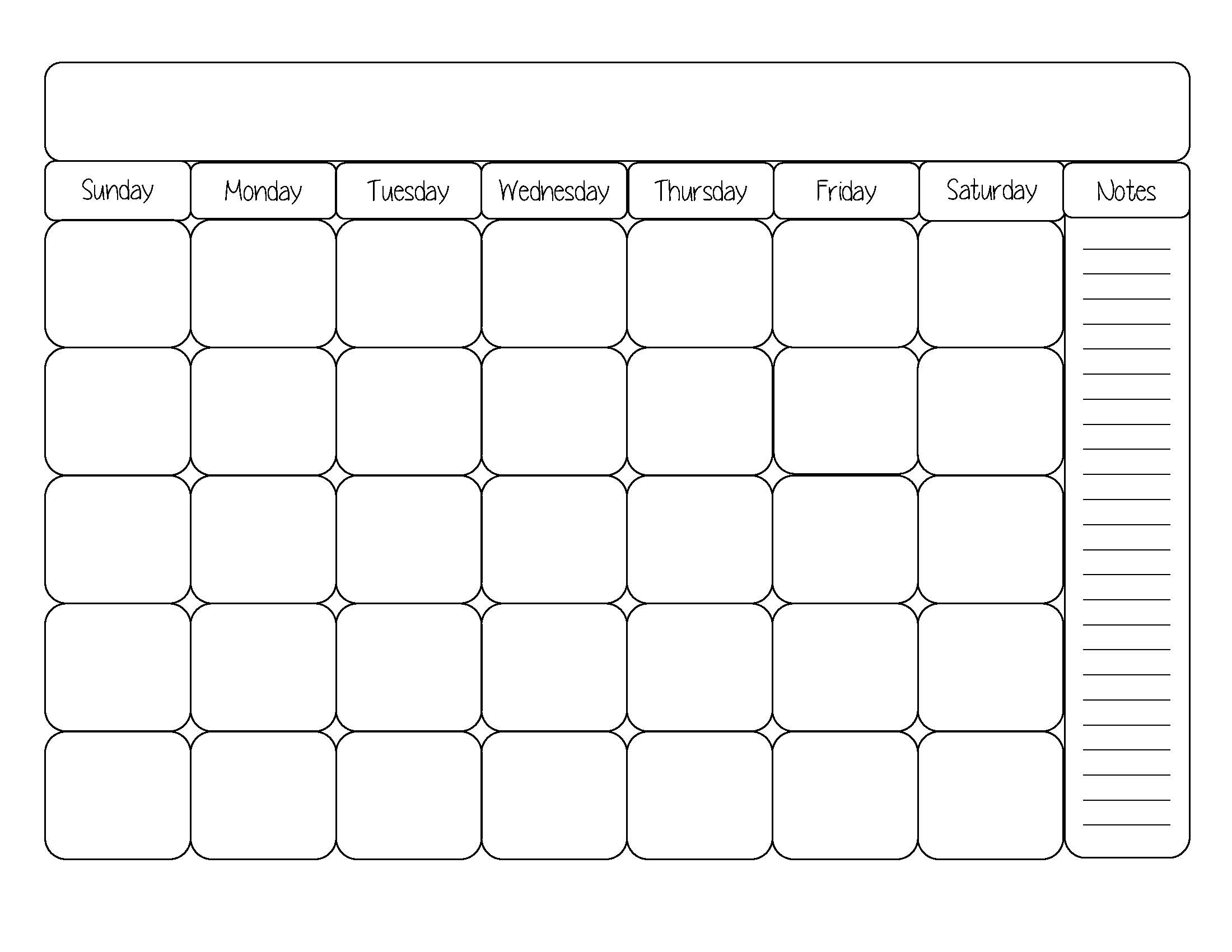 1000+ images about Calendars on Pinterest | Blank calendar