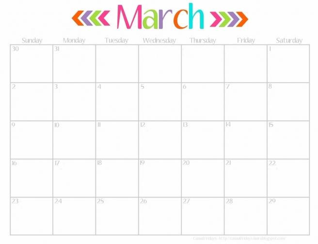 February 2017 Calendar Cute | free calendar 2017