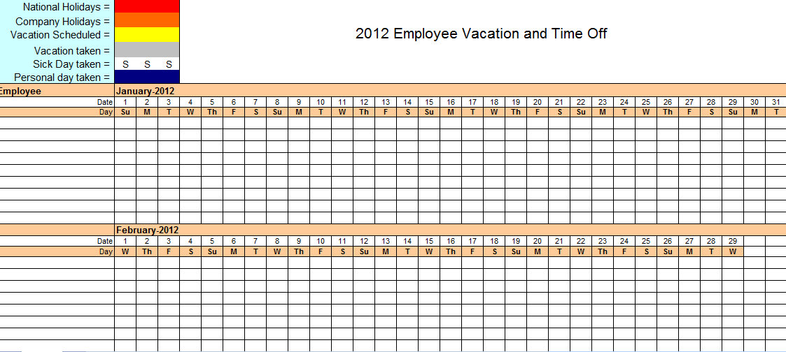 Employee Vacation Tracker & Dashboard using MS Excel | Chandoo.