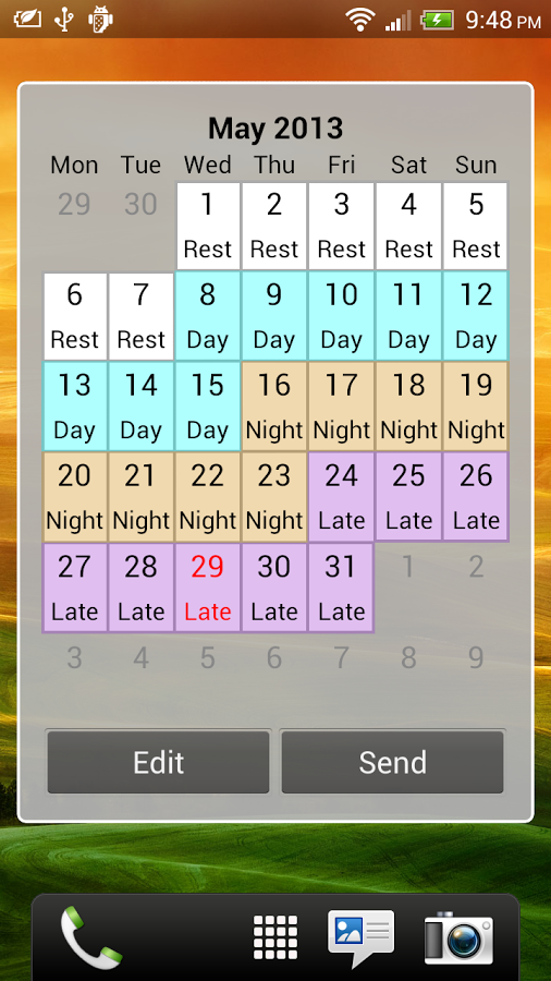 Shift Calendar (since 2013) Android Apps on Google Play