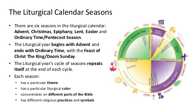Bangsar Lutheran Church Worship Ministry The Liturgical Calendar