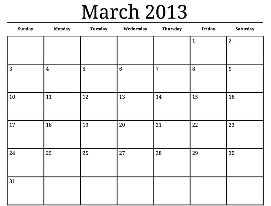 Calendar Printables – 2017 printable calendar