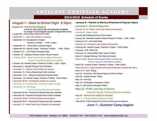 Fordham University 2015 16 Academic Calendar