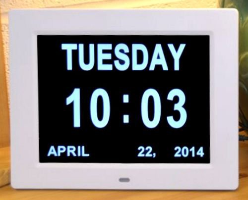Buy Digital Office Clock Wall Clock Displays in 12 hour (ampm