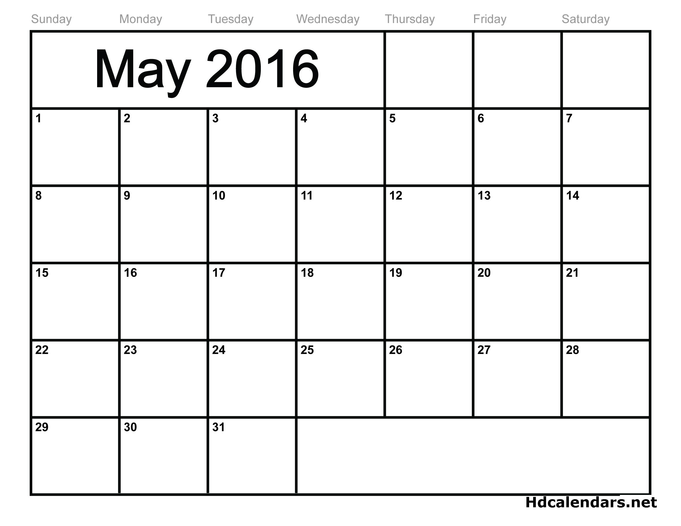2016 Calendar Template – 51+ Free Word, PDF, PSD, EPS, AI