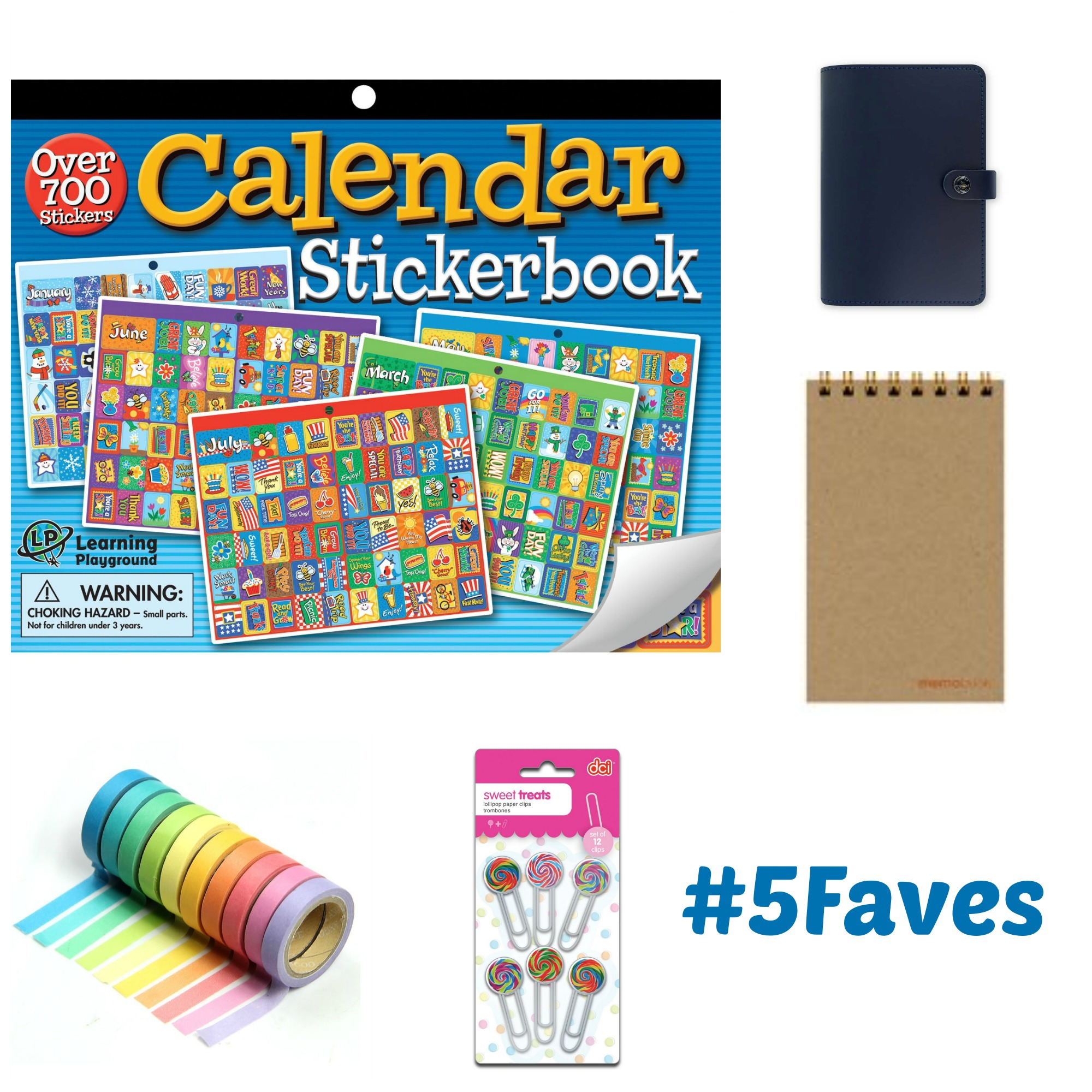 5 Faves to Get Your Planner Started