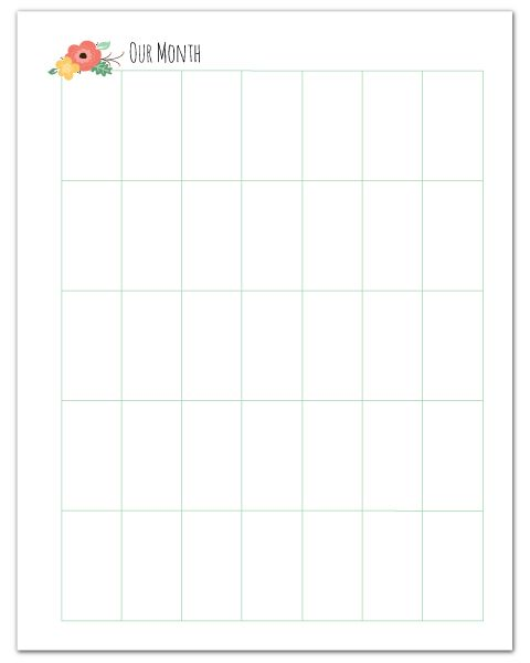 Weekly Calendar Vertical : Printable calendar vertical blank template