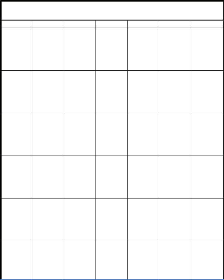 Vertical Monthly Notebook Calendars