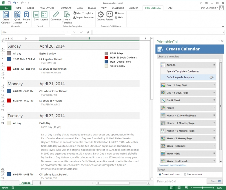 Printable Calendar Custom Date Range | New Calendar 2016