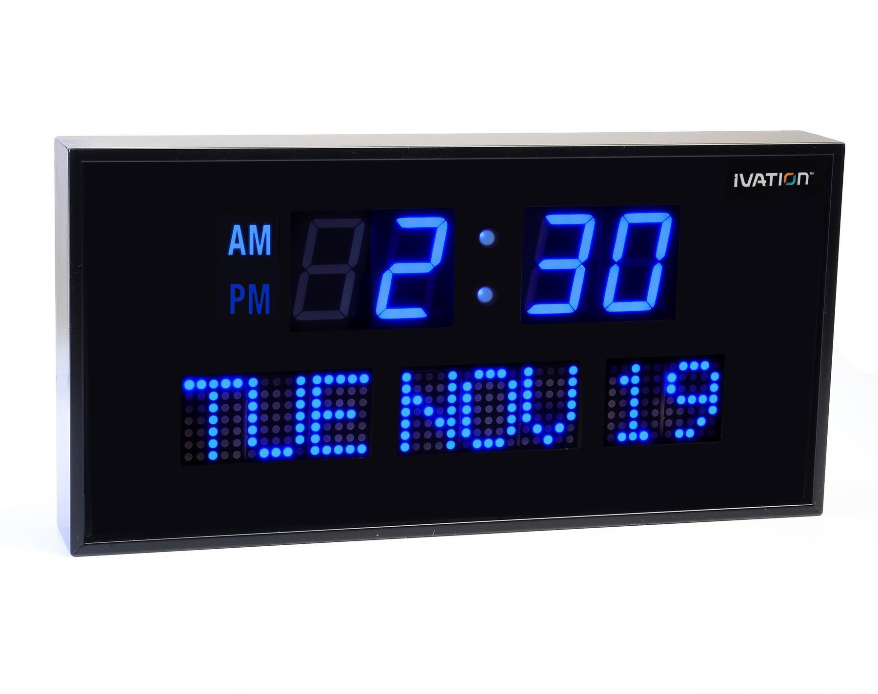 7 Best Images of Digital Clock Date Day Week Digital Calendar