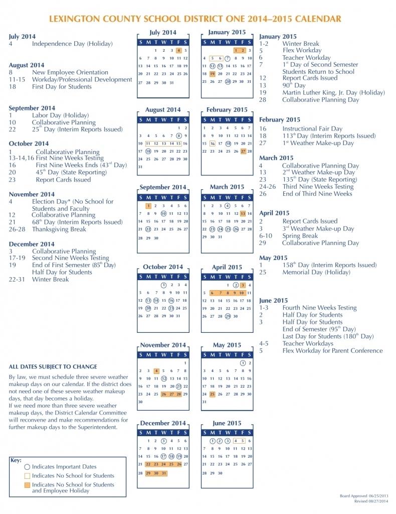 Fort Zumwalt Calendar 2016 2017 : Free Calendar Template