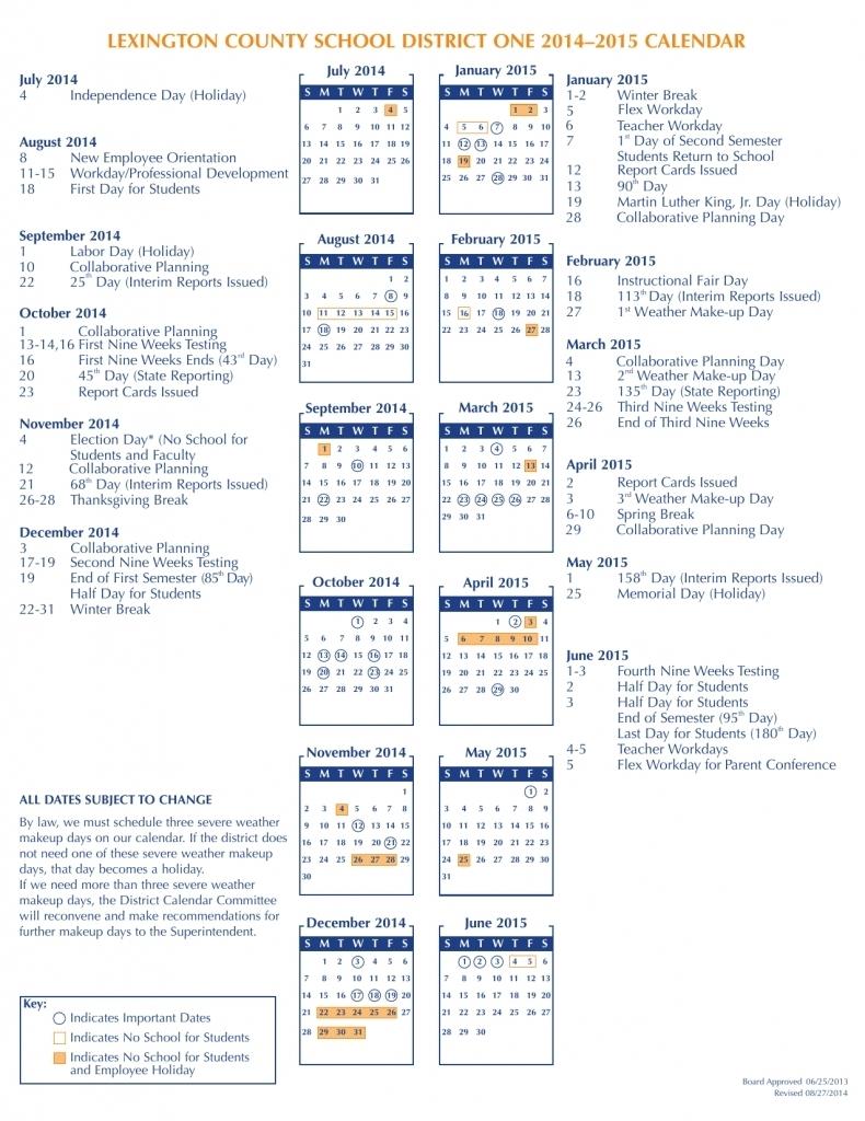 Fort Zumwalt School Calendar 2017 : Free Calendar Template