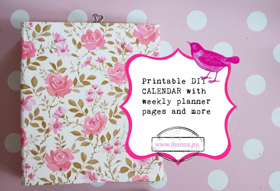 Free Day Runner Calendar Templates | Printable Calendar Classroom