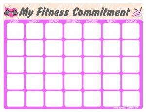 Free printable calendars, has p90x and insanity also premade, just
